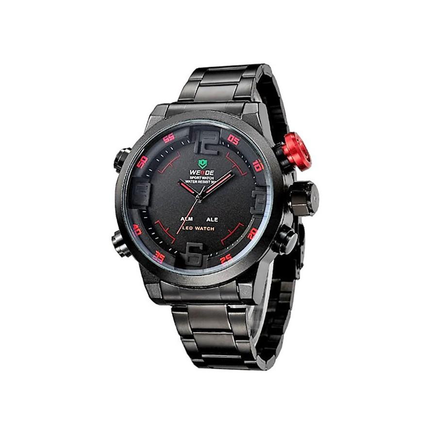 Pánské hodinky WEIDE 2309 red - Glami.cz 06c5aef5dc