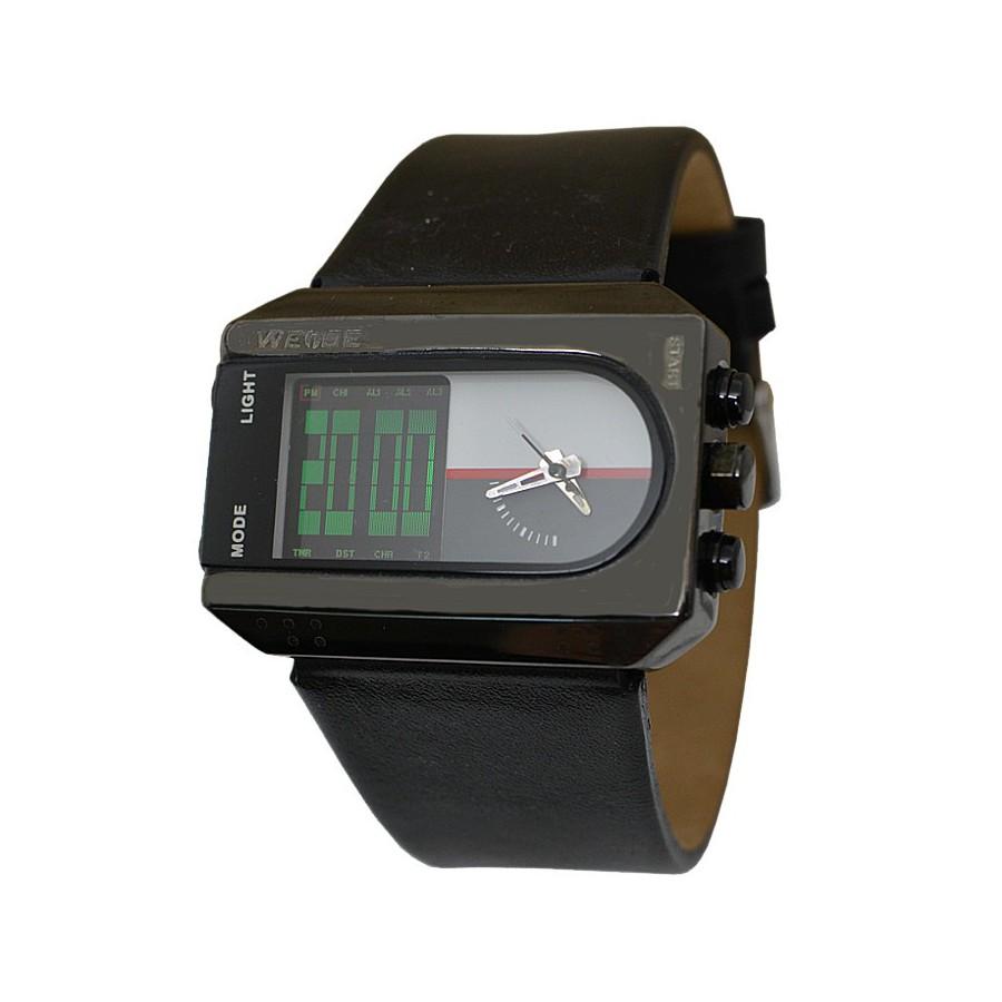 Pánské retro hodinky Weide 840 WH-840 černé - Glami.cz 29ad8058e64