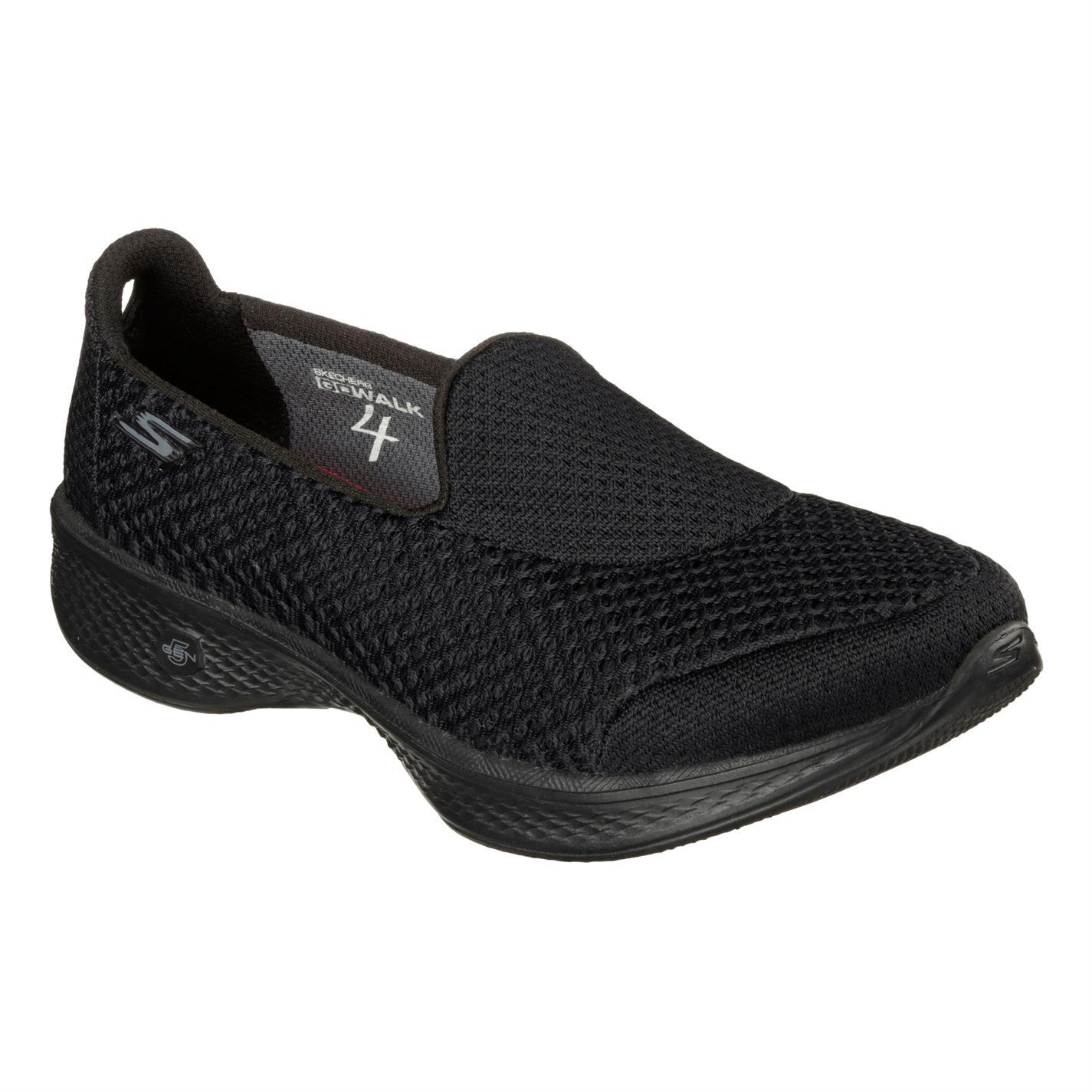 boty Skechers Go Walk 4 K Ld00 Black - Glami.cz 9cb31e4a7b0