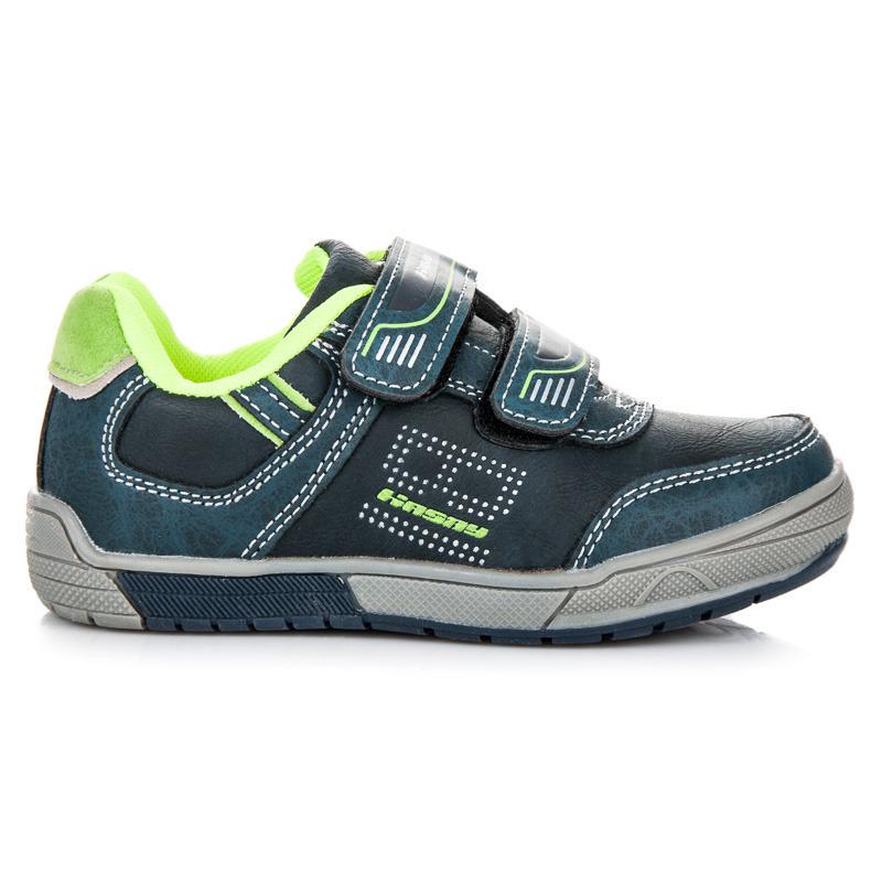 HASBY Športové modré detské topánky na suchý zips - Glami.sk 30ba3a06a6f