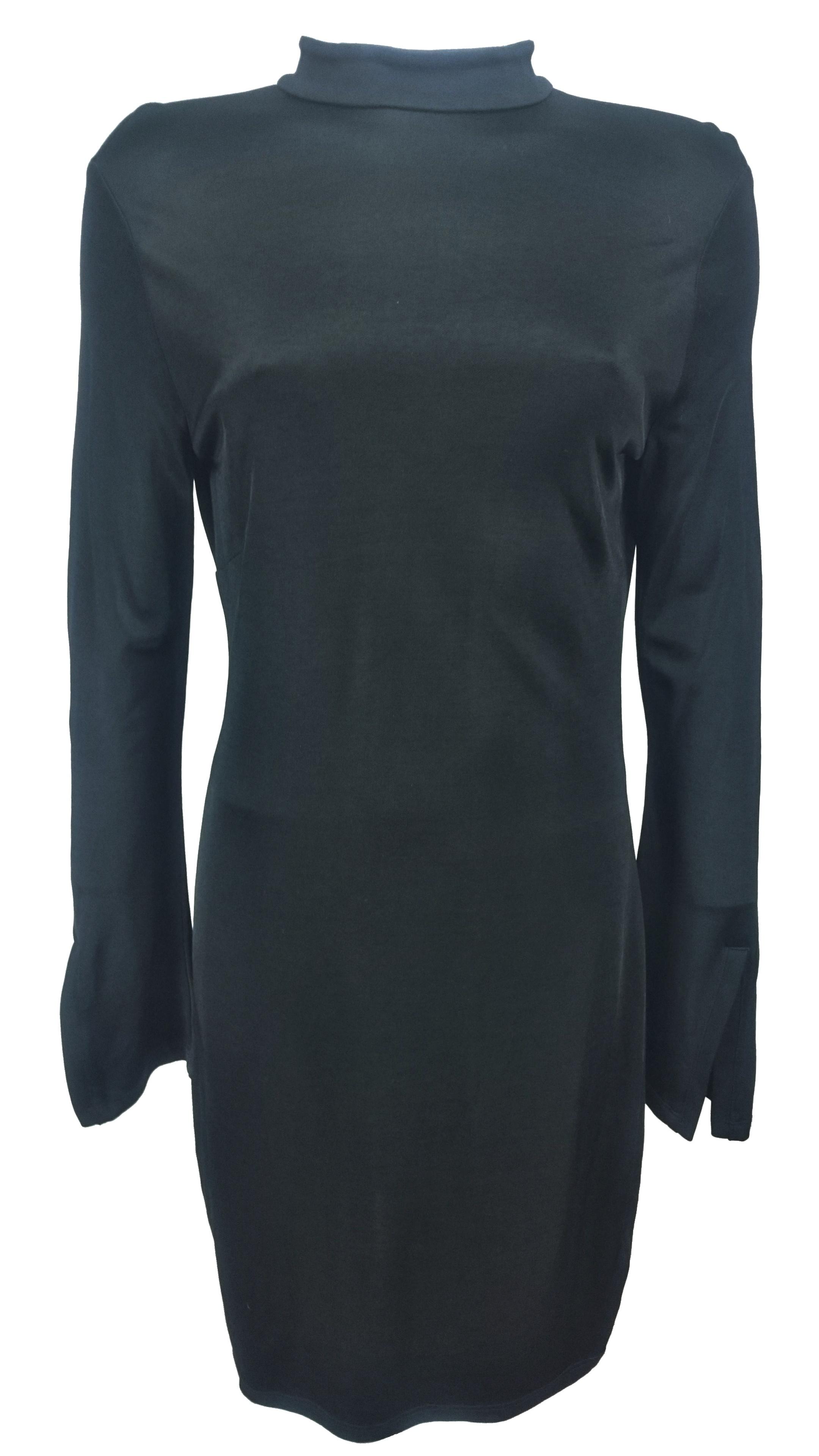 H M dámské černé šaty - Glami.cz 613829a730
