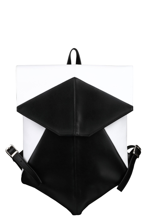 0f8ffa440d Wojewodzic extravagantný ruksak dámsky čiernobiely 31733 - Glami.sk