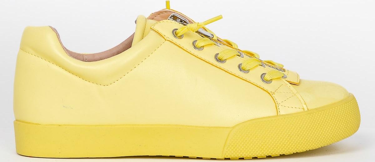 2e0e1bd8e21 BASIC Žluté sneakery - 7209 - Glami.cz