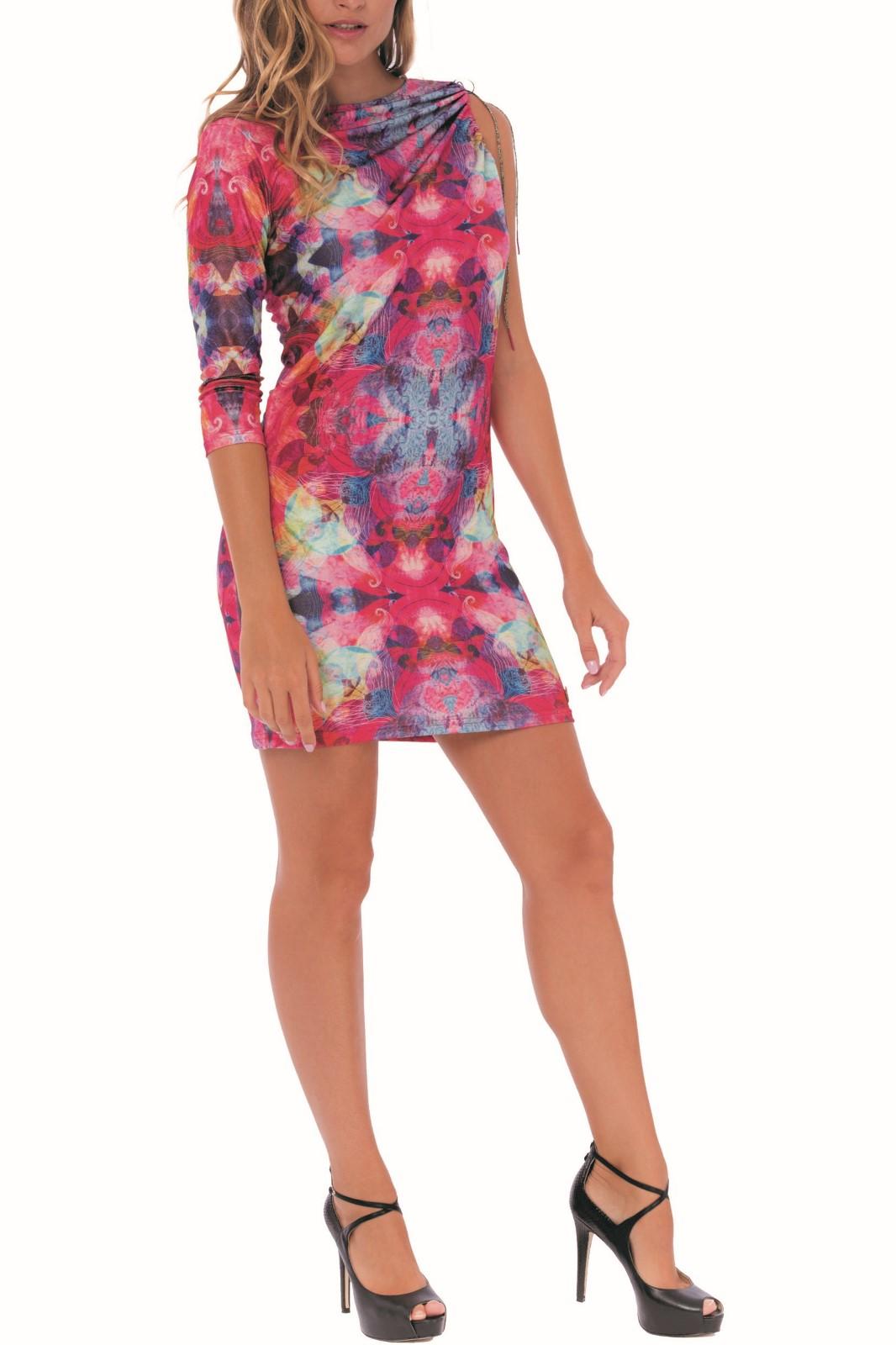 Culito from Spain farebné šaty Abstracto Una Manga - Glami.sk 581bf4a396