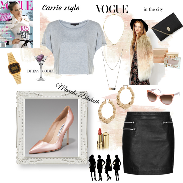 Carrie inspiration, Manolo Blahnik shoes
