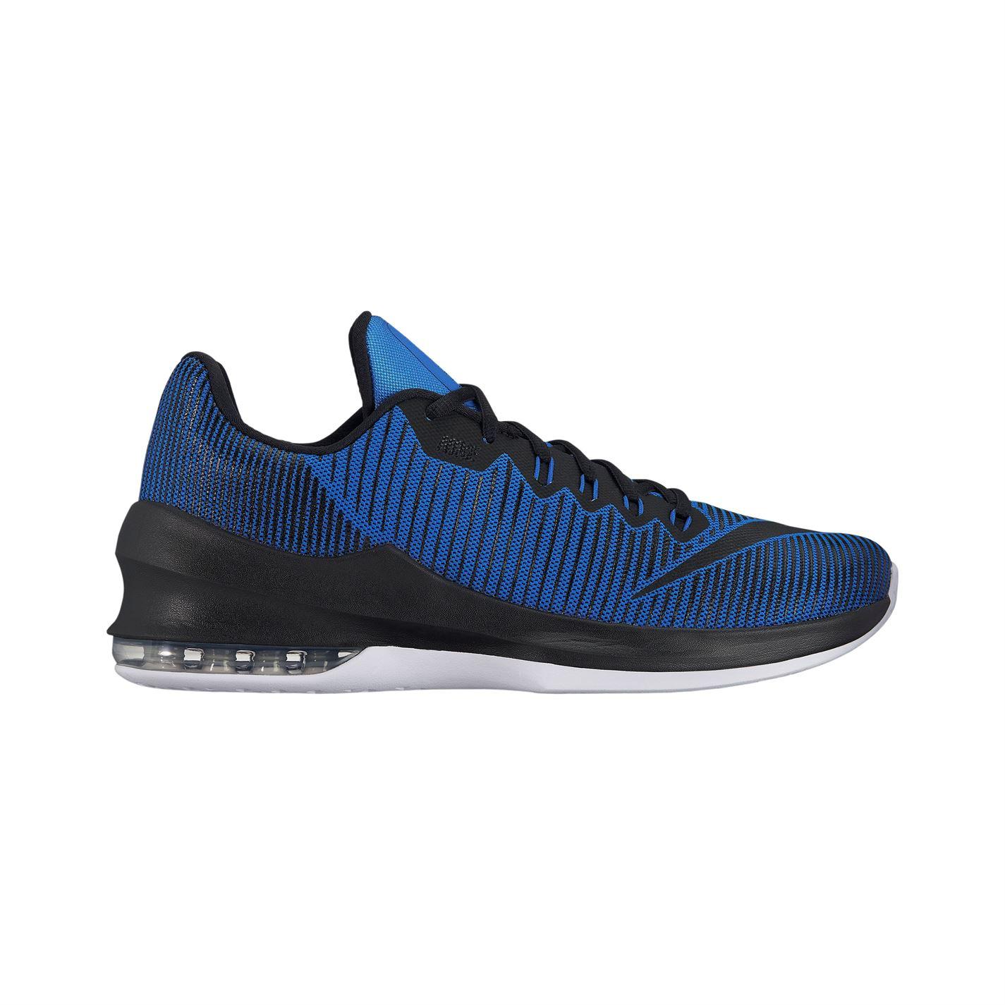 basketbalové boty boty Nike Air Max Infuriate pánské Basketball Royal Black 8d0cb6cc4fa