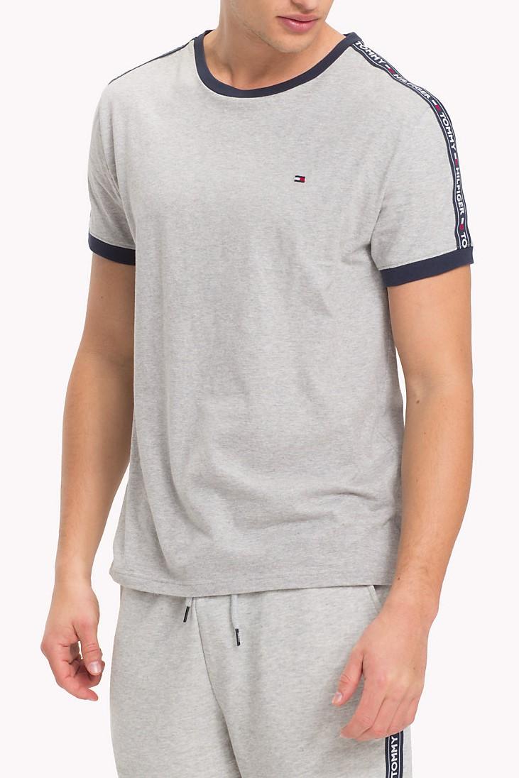 ... Hilfiger sivé pánske tričko RN Tee SS. -5%. Tommy ... 863981d067a