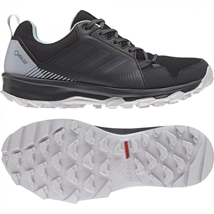 c1e64cfd13c Dámské outdoorové boty adidas Performance TERREX TRACEROCKER GTX W (Černá    Šedá   Zelená). 1
