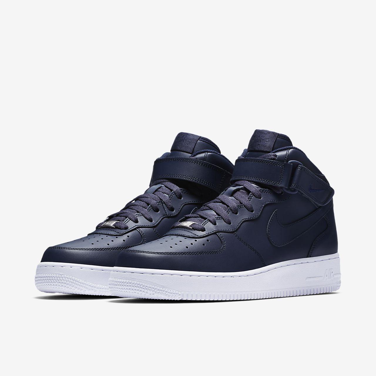 Pánske tenisky Nike Air Force 1 Mid `07 Obsidian White - Glami.sk 28ae389291