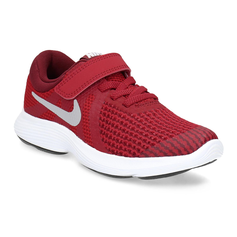 Nike Červené dětské tenisky na suchý zip - Glami.cz 69a67a23c8