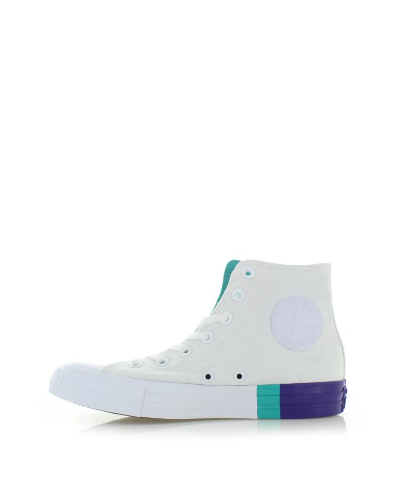 Converse Fehér női magasszárú tornacipő Chuck Taylor All Star Tri-Block  Midsole. Converse Fehér női magasszárú ... c06cf881e8