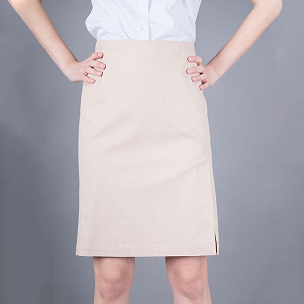 5a136f35930d Armani Jeans Elegantní béžová sukně AJ XL - Glami.cz