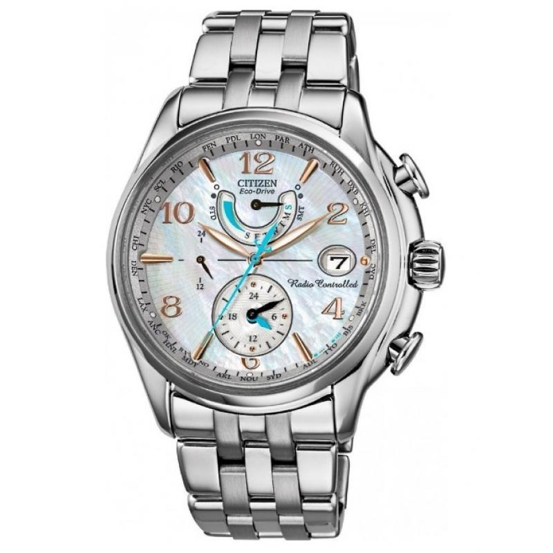 4769dfaf582 Dámské hodinky CITIZEN Eco-Drive Radiocontrolled Perpetual FC0000-59D. 1