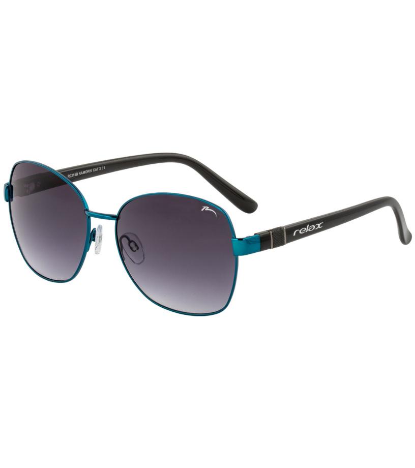 64510fc1c RELAX NAMORIK Slnečné okuliare R0315B čierna / tyrkysová - Glami.sk