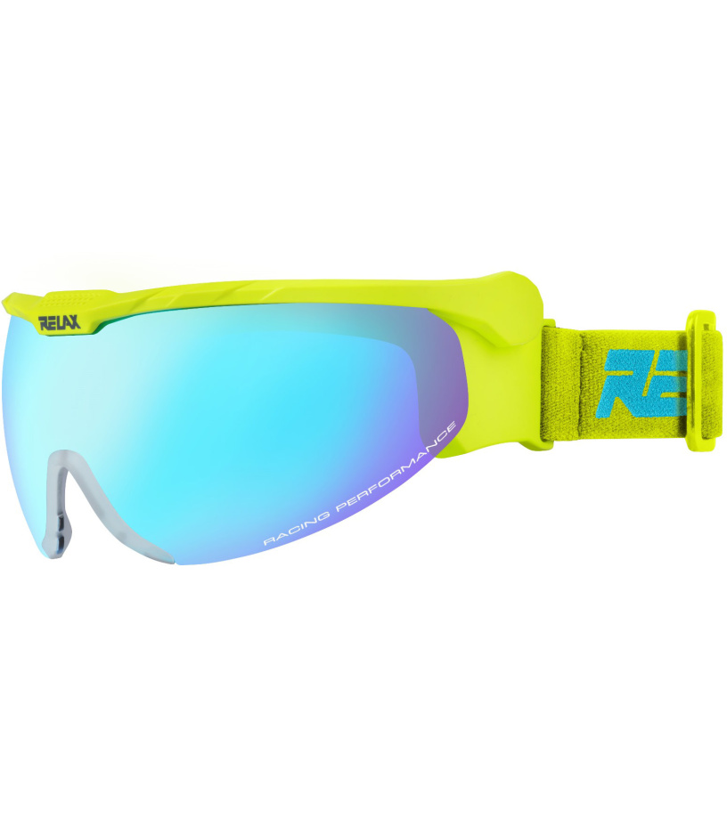 64802c0af RELAX NORDIC Lyžiarske okuliare HTG27B žltá - Glami.sk