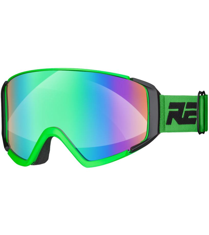 32ebbf781 RELAX CRUISER Lyžiarske okuliare HTG29B čierna / zelená - Glami.sk