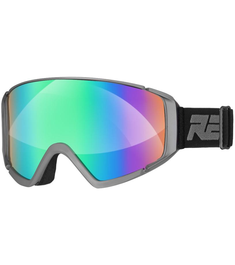 a2ef40b4b RELAX CRUISER Lyžiarske okuliare HTG29A svetlá sivá - Glami.sk