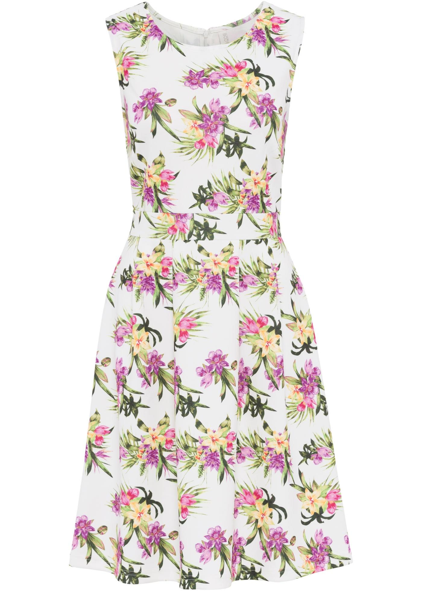 bonprix Šaty s květinovým potiskem - Glami.cz ef1c67ace6