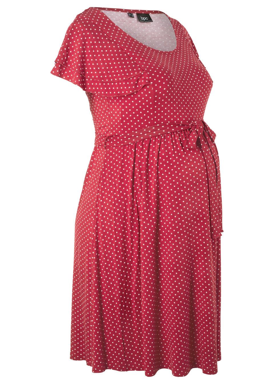 504c288eea10 Bonprix Tehotenské úpletové šaty - Glami.sk