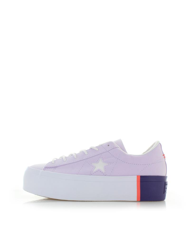 Converse Női világos rózsaszín alacsony szárú tornacipő One Star Platform. Converse  Női világos rózsaszín alacsony ... 36f6675ecf