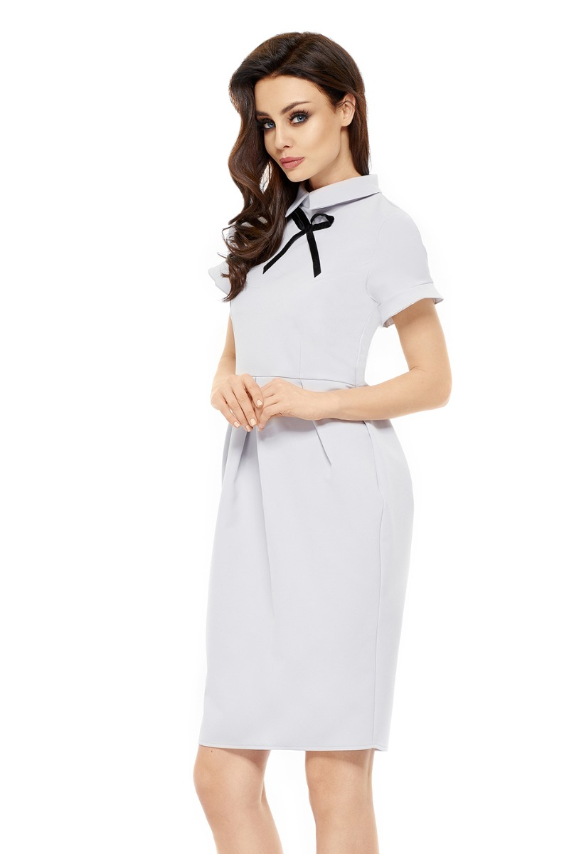 Lemoniade Svetlosivé šaty L234 - Glami.sk 93a981e31bd