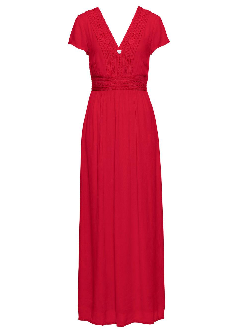 Bonprix Maxi šaty s čipkou - Glami.sk 031a33576e2