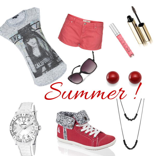 red*summer*outfit