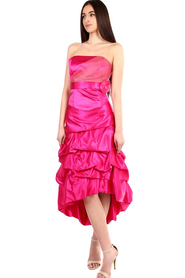 Glara Ružové korzetové šaty na ples - Glami.sk 1e0938b0af