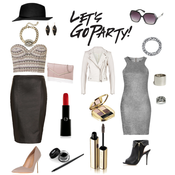 Let´s Go Party - Glamour Look