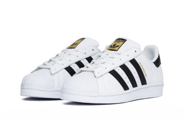 9a1cfd8ebe Dámske tenisky Adidas Superstar Junior White black - Glami.sk