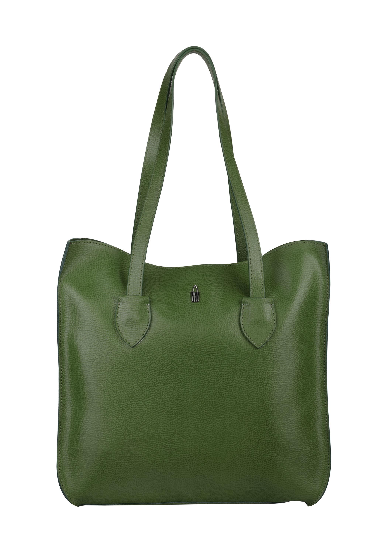 Wojewodzic kožené kabelky luxusné cez rameno zelené 31746 OL11 ... 1b882393f4a