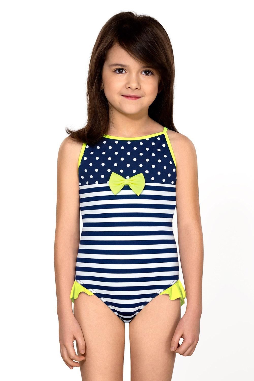 92c2cd8cb5 LORIN Dievčenské plavky Aletta modro-biela - Glami.sk