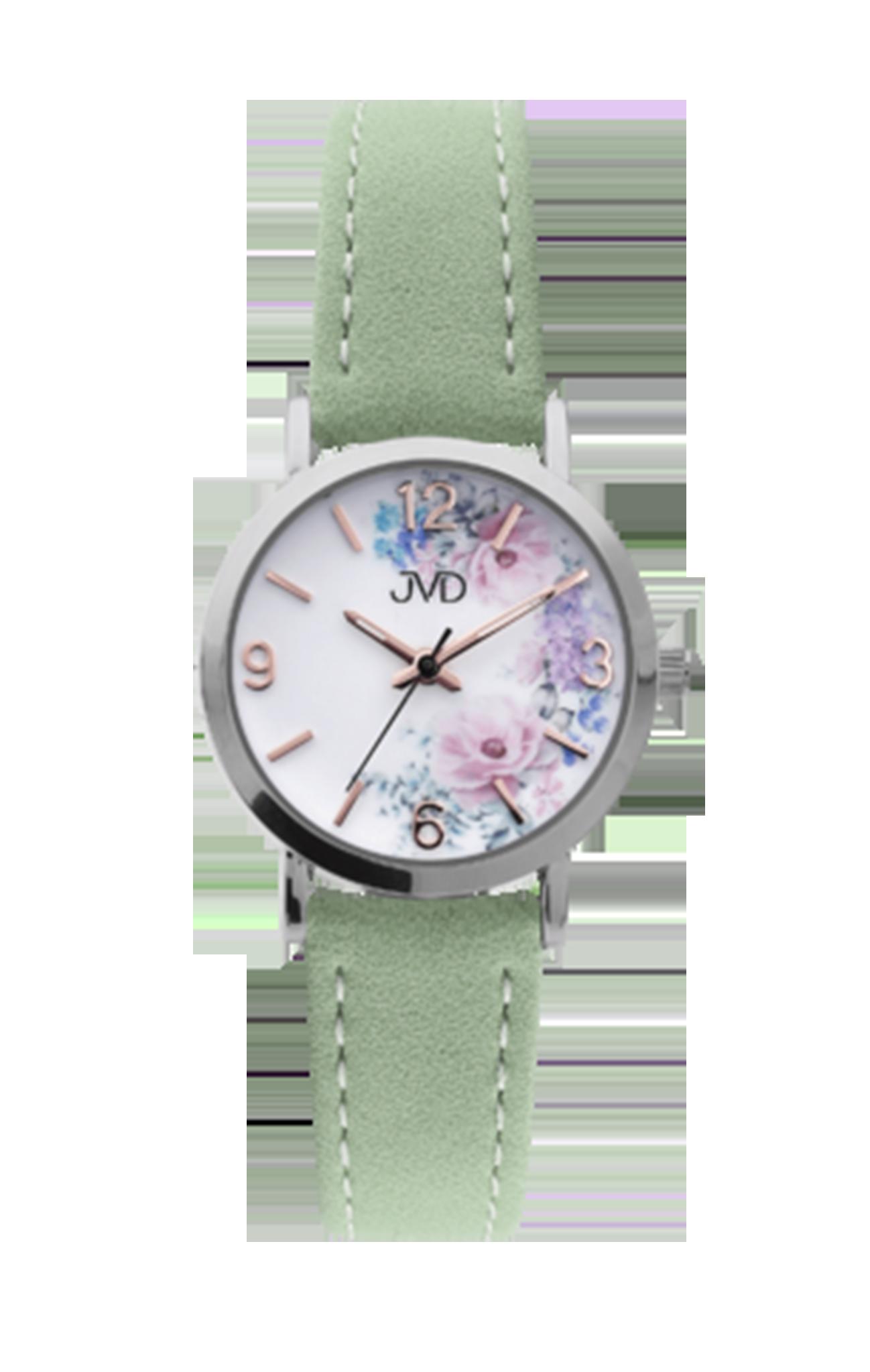 2e6445918 Dětské dívčí přehledné náramkové hodinky JVD J7184.9 - Glami.cz