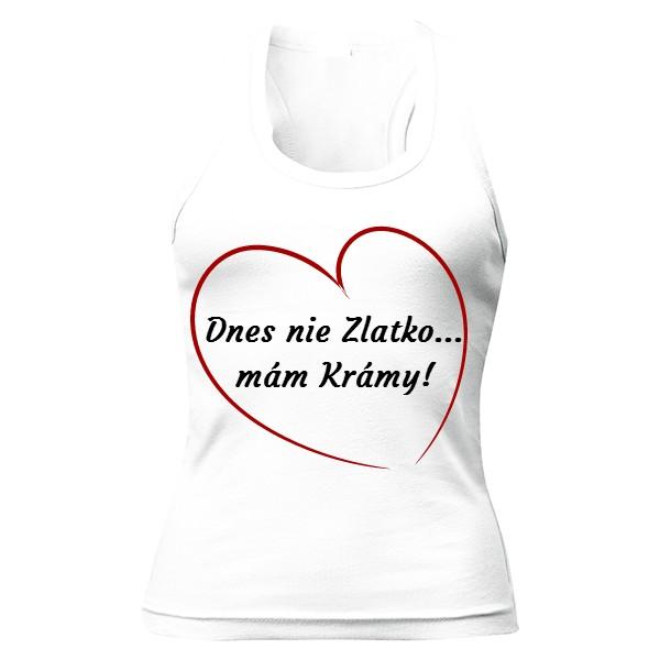 T-shock tričko s potiskem Dnes nie dámské - Glami.cz 875cbfb568