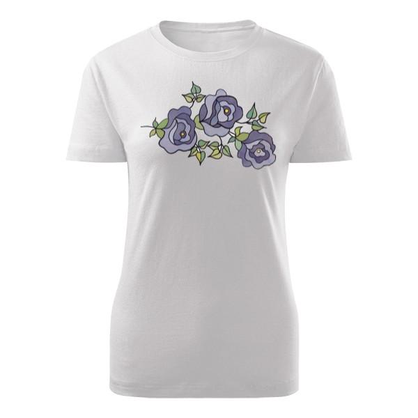 T-shock tričko s potiskem Rose dámské - Glami.cz ebe45e3f63