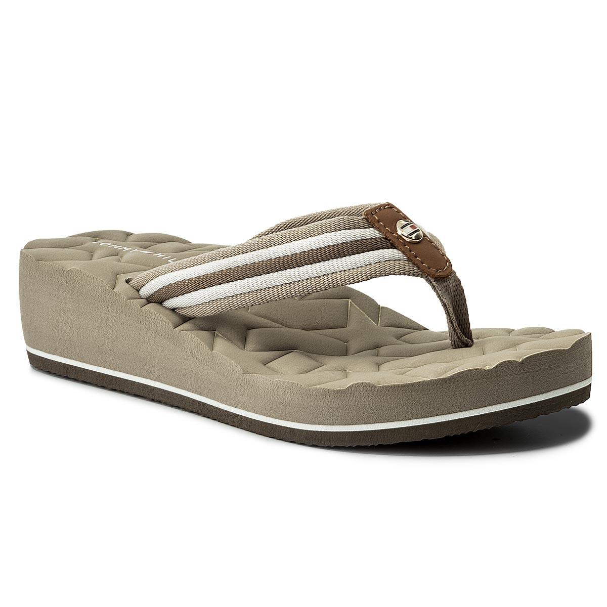 Žabky TOMMY HILFIGER - Comfort Mid Beach Sandal FW0FW02367 ... 9935a38d33
