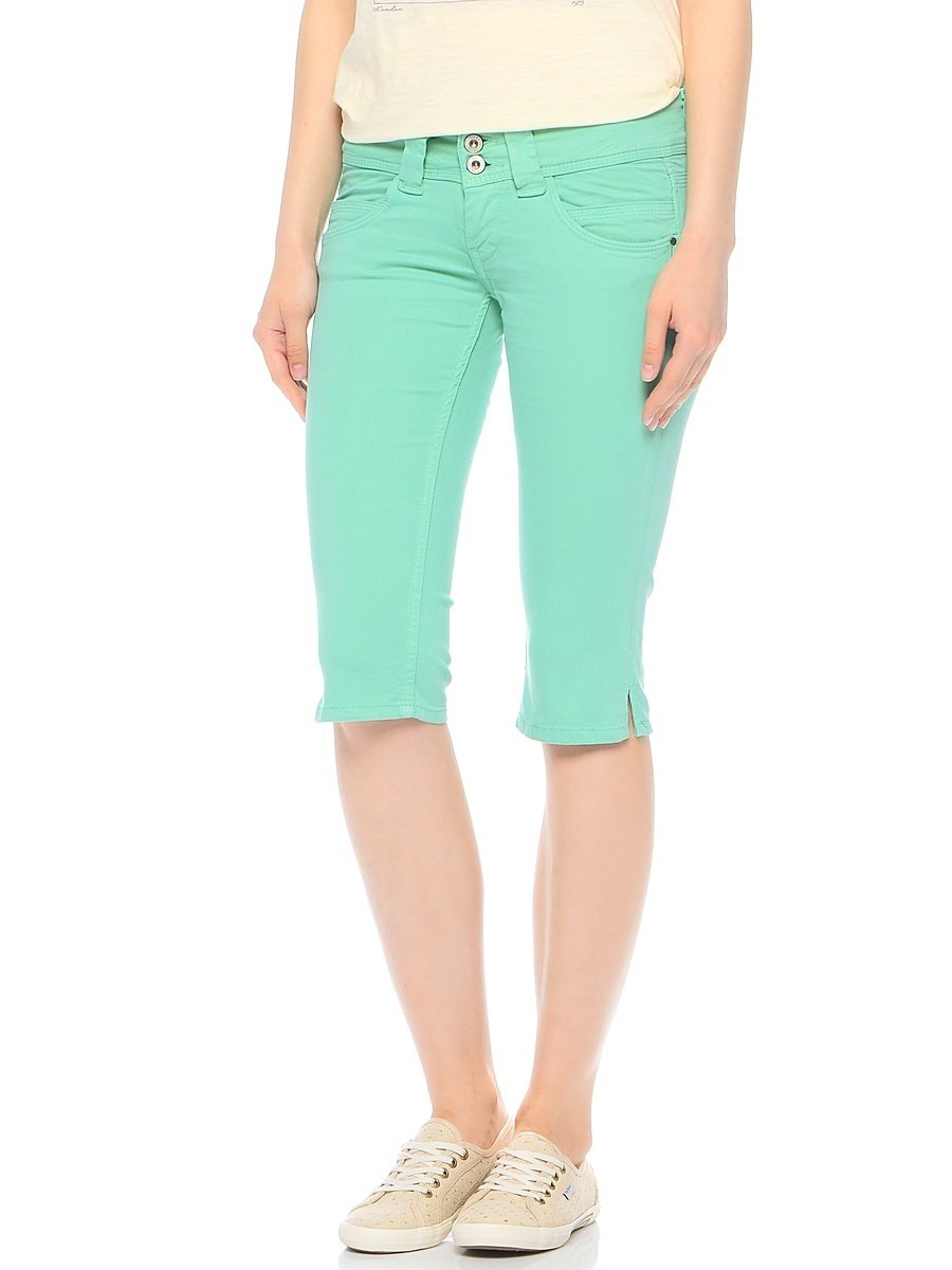 1e91d915205 Pepe Jeans dámské pastelově zelené šortky Venus - Glami.cz
