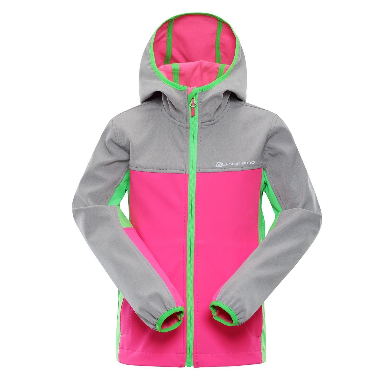 Dětská softshellová bunda Alpine Pro NOOTKO 3 - růžová - Glami.cz f852cb3f6c