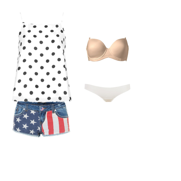 na léto i e spodním prádlem :D