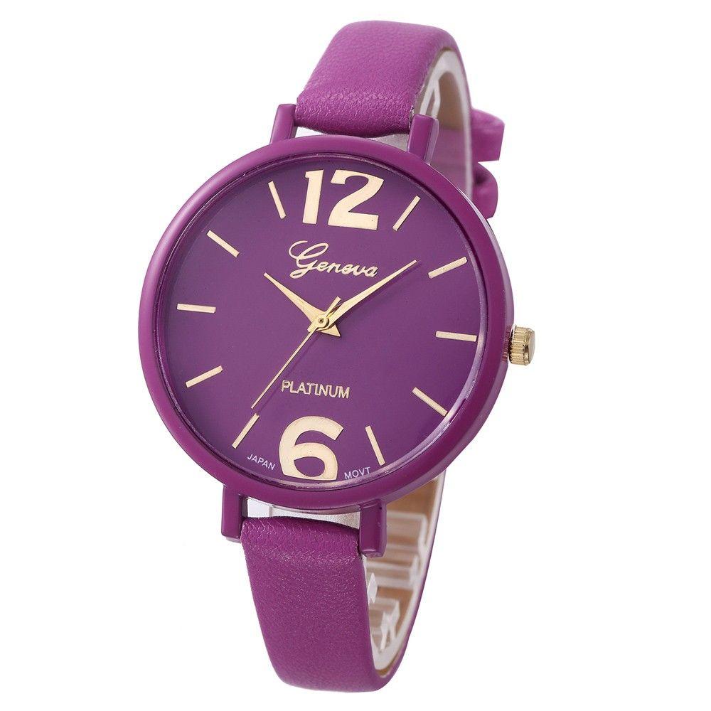 Shim Watch Geneva dámské hodinky Fialové - Glami.cz 5762a9813f