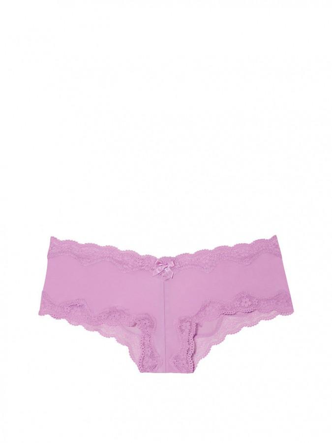 Victoria s Secret Victoria s Secret luxusní fialové brazilské kalhotky Lace-Trim  Cheeky 06f0b9257e