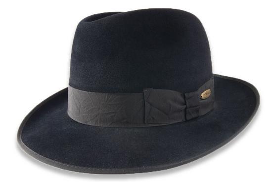 e362ab50f54 Tonak Pánský plstěný klobouk černá (Q9030) 59 11389 12BC - Glami.cz