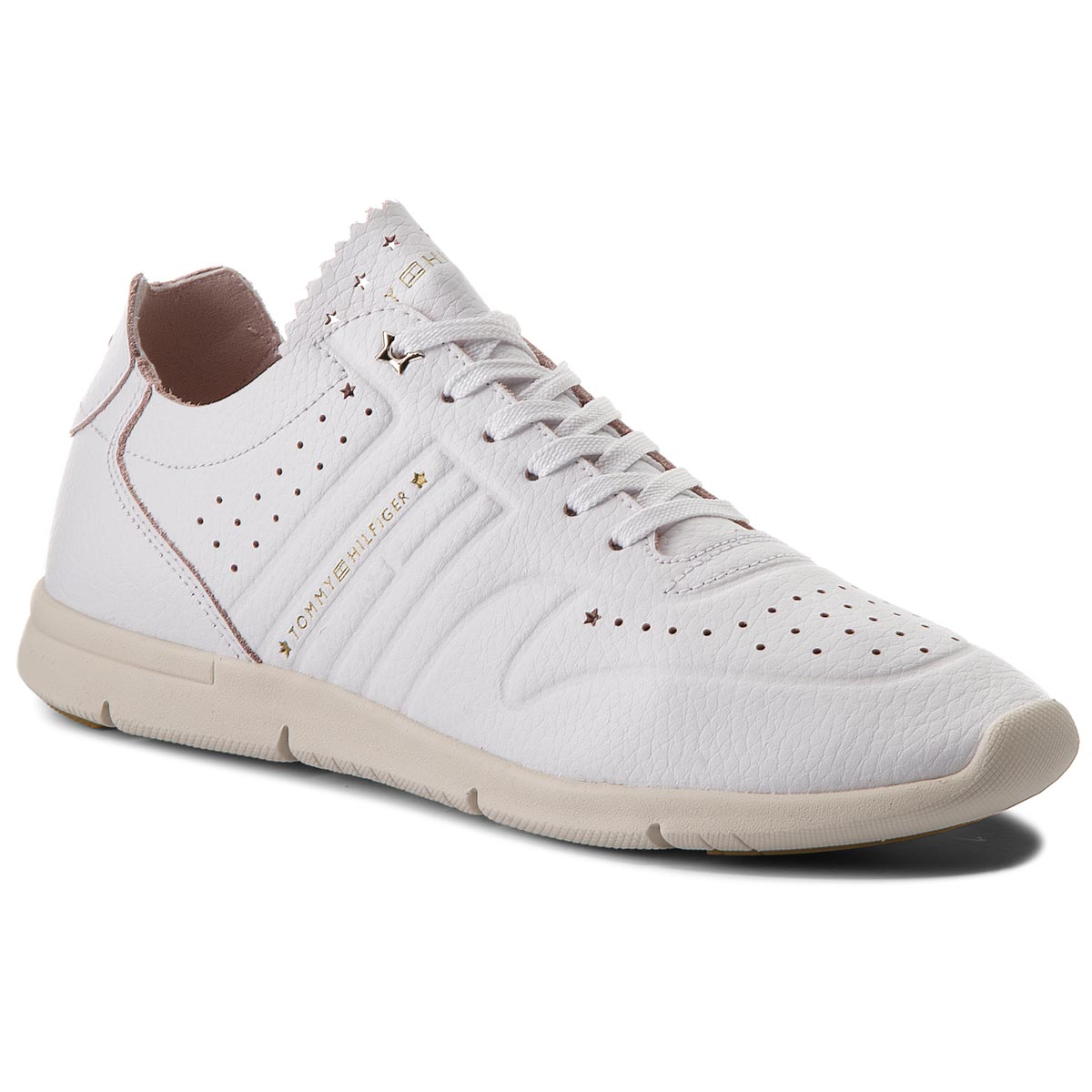 TOMMY HILFIGER Leather Light Weight Sneaker FW0FW03017. TOMMY HILFIGER  Leather Light Weight Sneaker FW0FW03017. TOMMY HILFIGER ... 53b378b119