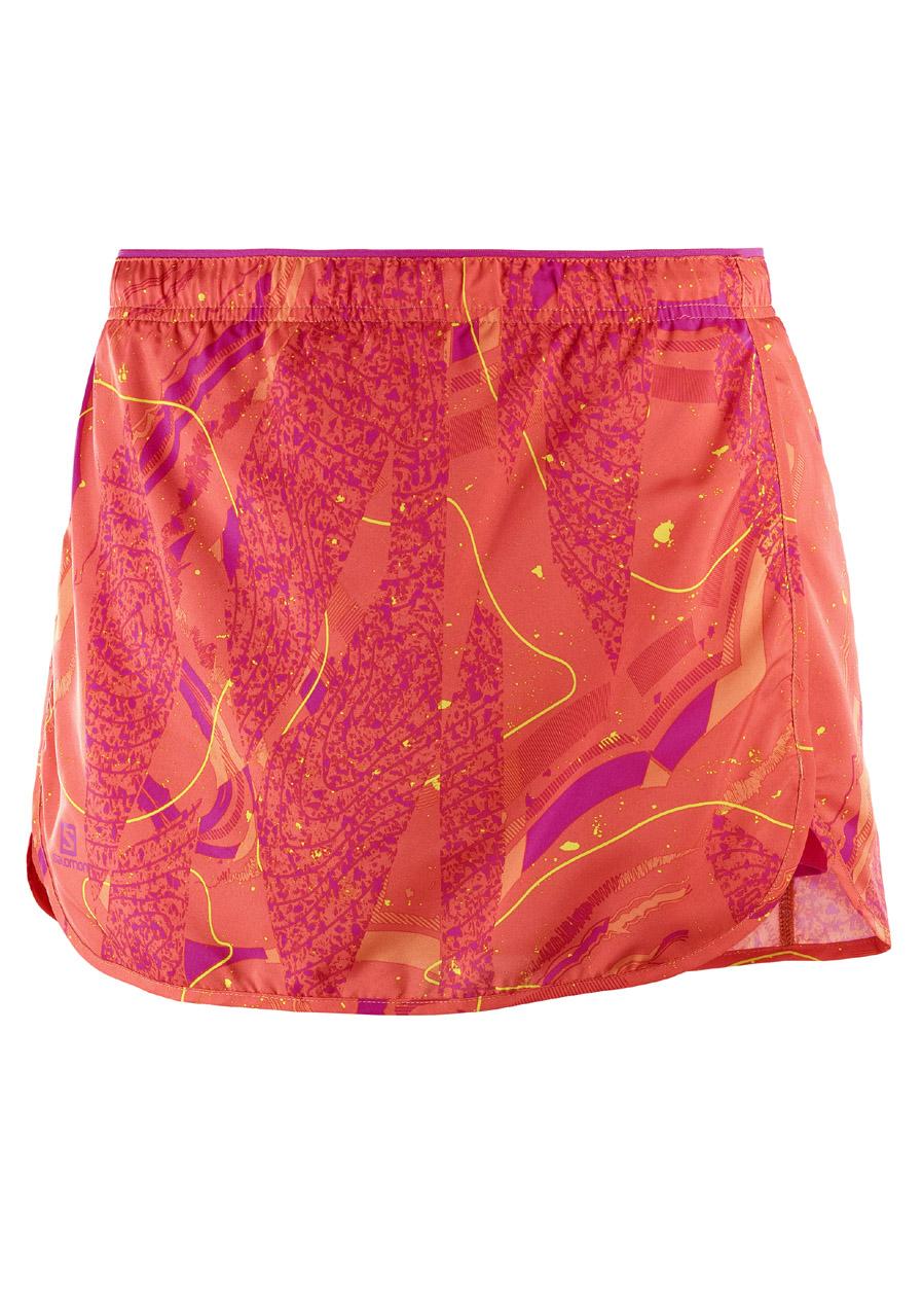 5d7bc89fec54 Dámská sukně Salomon Agile Skort W Nastur Pink Yarro Bird Of. Nové Dámská  sukně ...