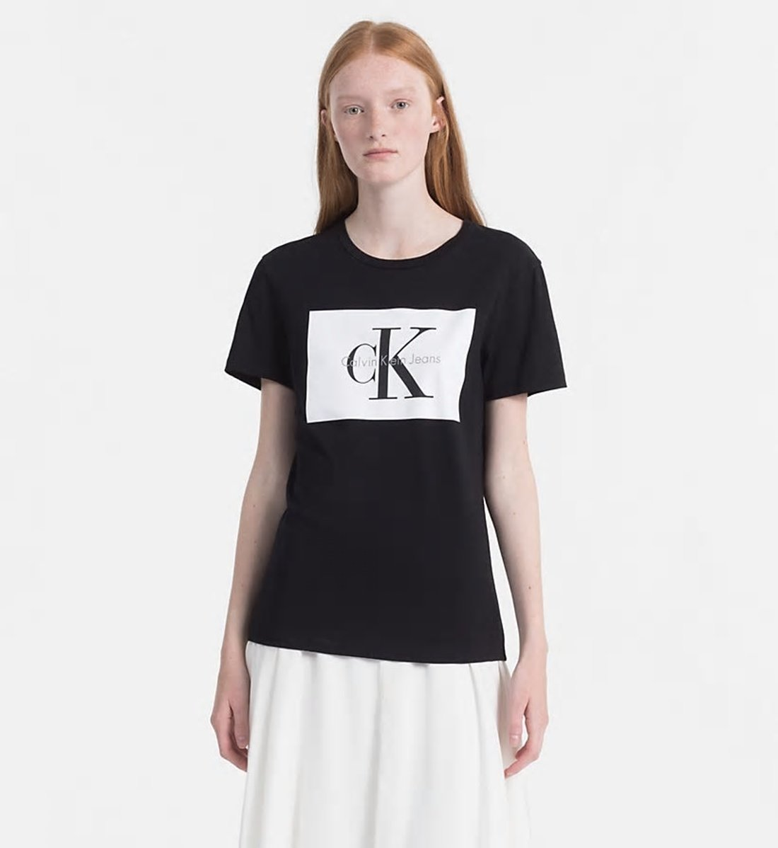 de6aa72b10d7 Calvin Klein dámské černé tričko s potiskem - Glami.cz