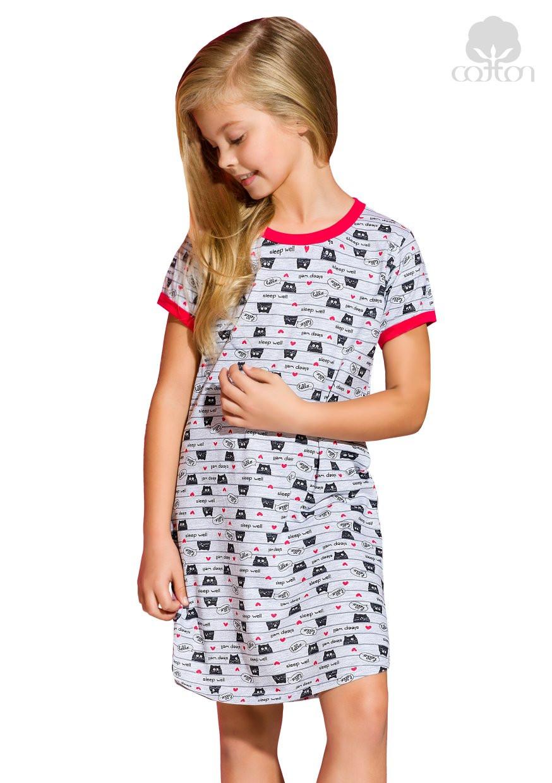 f9941c6f5914 Dievčenská nočná košeľa Pepa s nápisom Sleep well Taro - Glami.sk