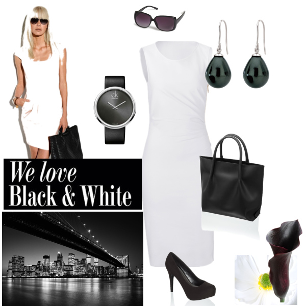 We love Black and White