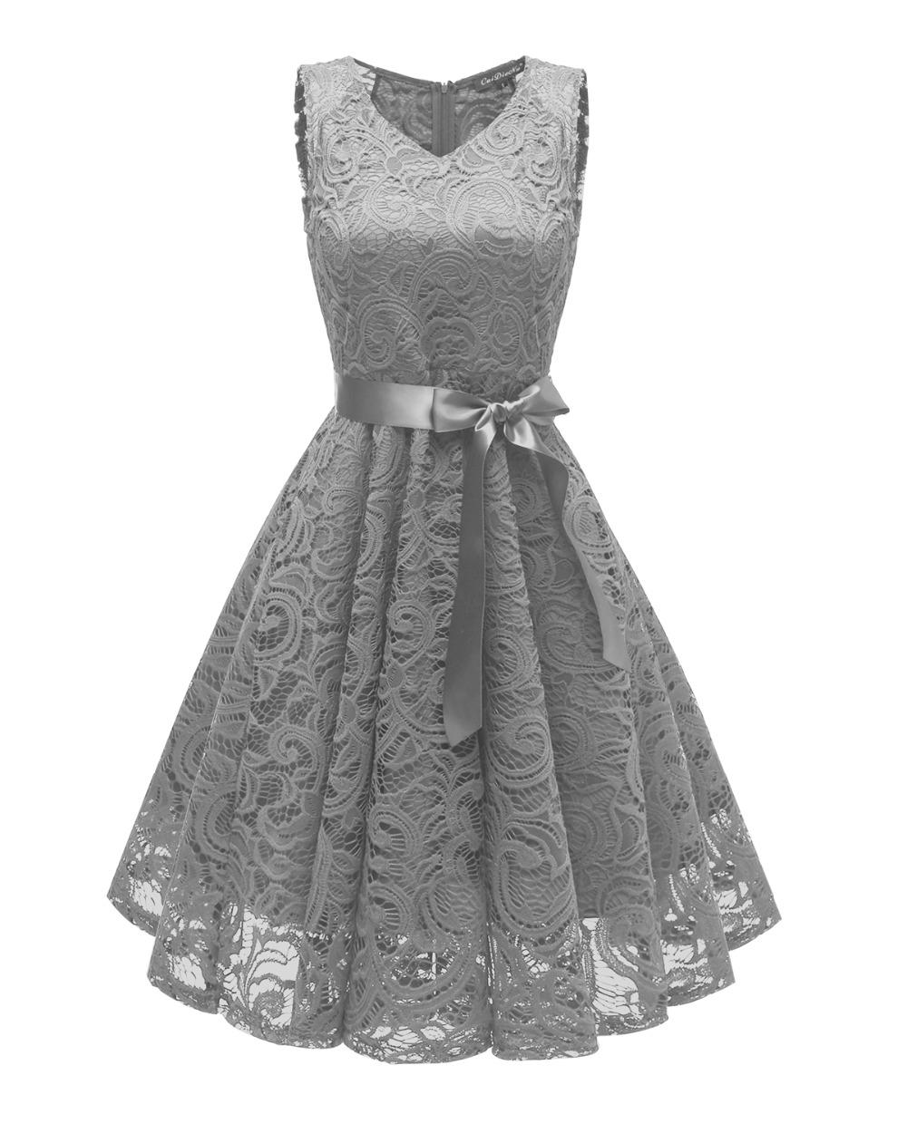 Dámské společenské šaty Catlin šedé - šedá - Glami.cz 8cbb182292
