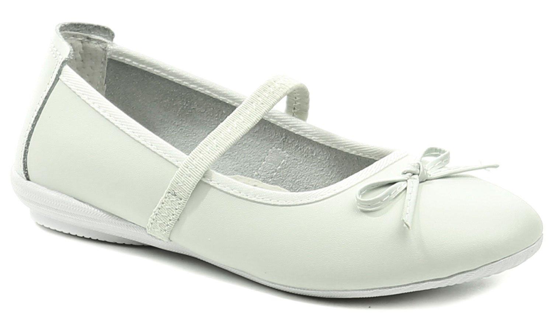 9fb3c41930 Peddy PY-525-13-05 bílé dívčí baleríny - Glami.cz