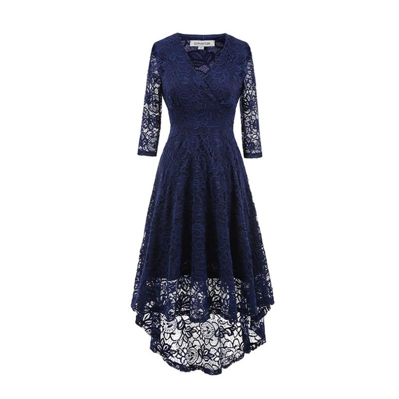 Dámské společenské šaty Yaroda modré - modrá - Glami.cz 77d90e3724